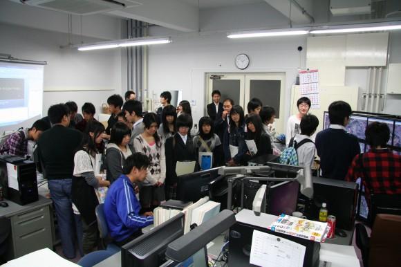 福島高校見学会