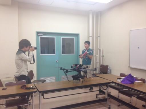 UAVのプロジェクトに関して筑波大学新聞から取材を受けました