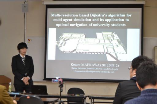 平成25年度 修士論文発表会においてラボメンバ4名が発表!