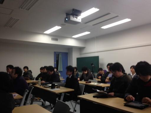平成25年度 卒業論文発表会 + 打ち上げ@いつもの百香亭