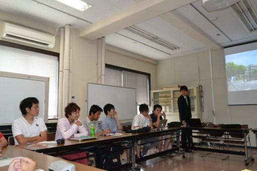 歓迎 インターンシップ学生(木更津高専)佐藤君