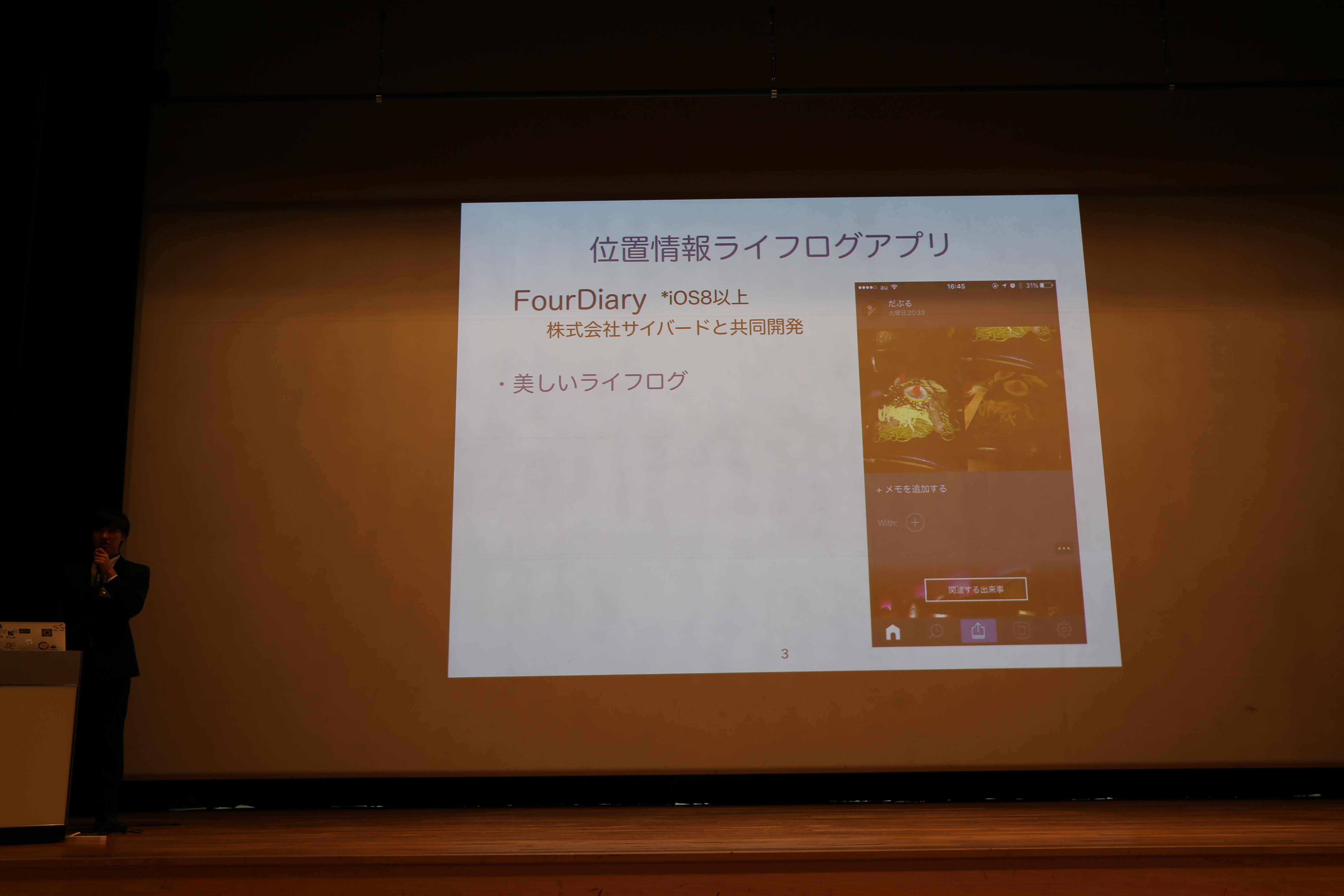 WebDB Forum 2015 において大東君発表x受賞